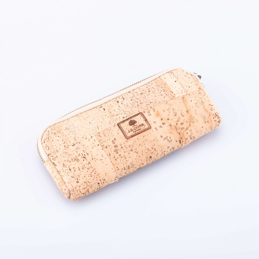 Cork Case with Zipper