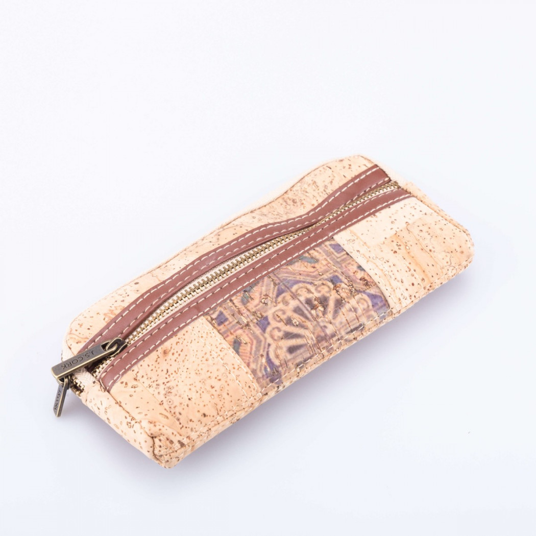 Cork Case with Side Zip