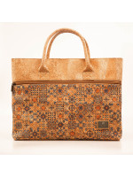 Patterned Cork Handbag