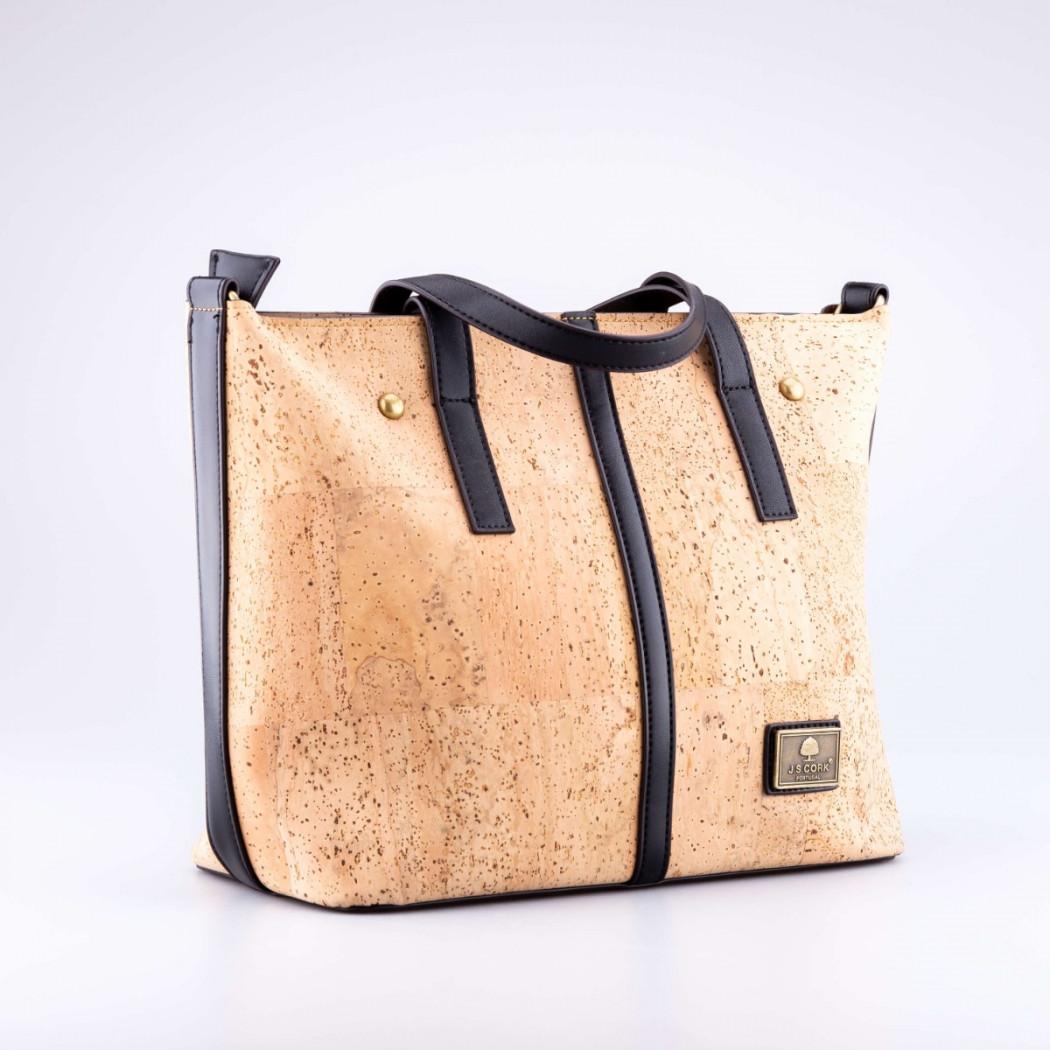 Short Strap Cork Bag