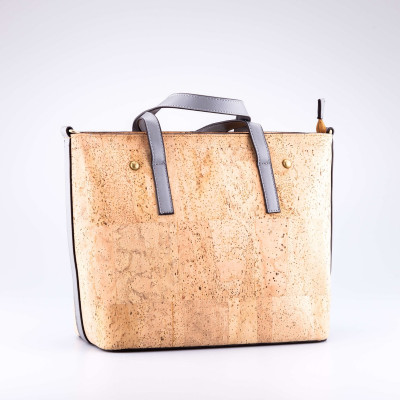 Short Strap Cork Bag