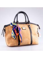 Cork Bag with Handkerchief