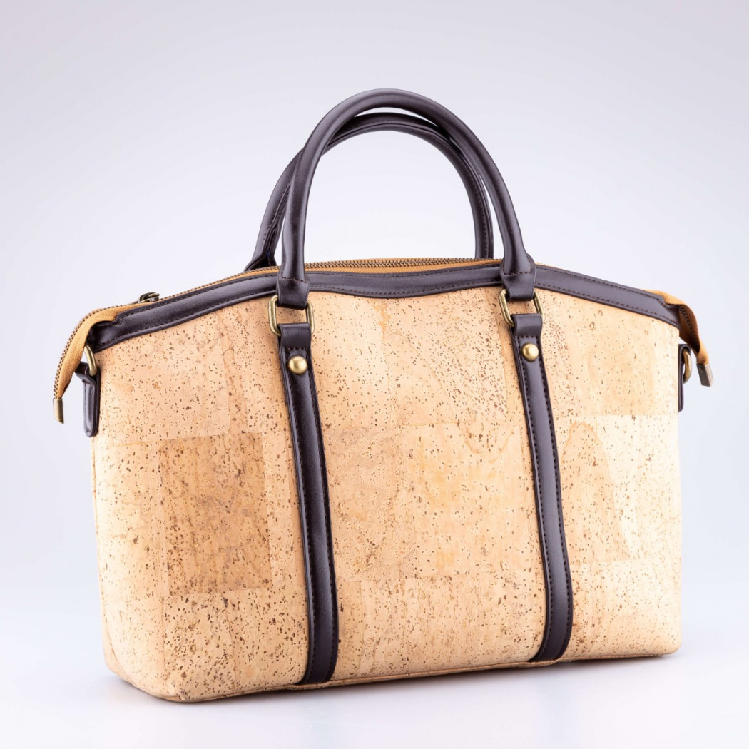 Cork Bag with Handkerchief