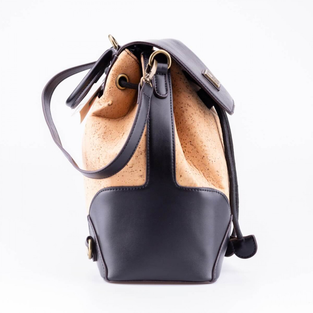 Cork and Leather Backpack