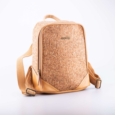Cork Backpack Letters