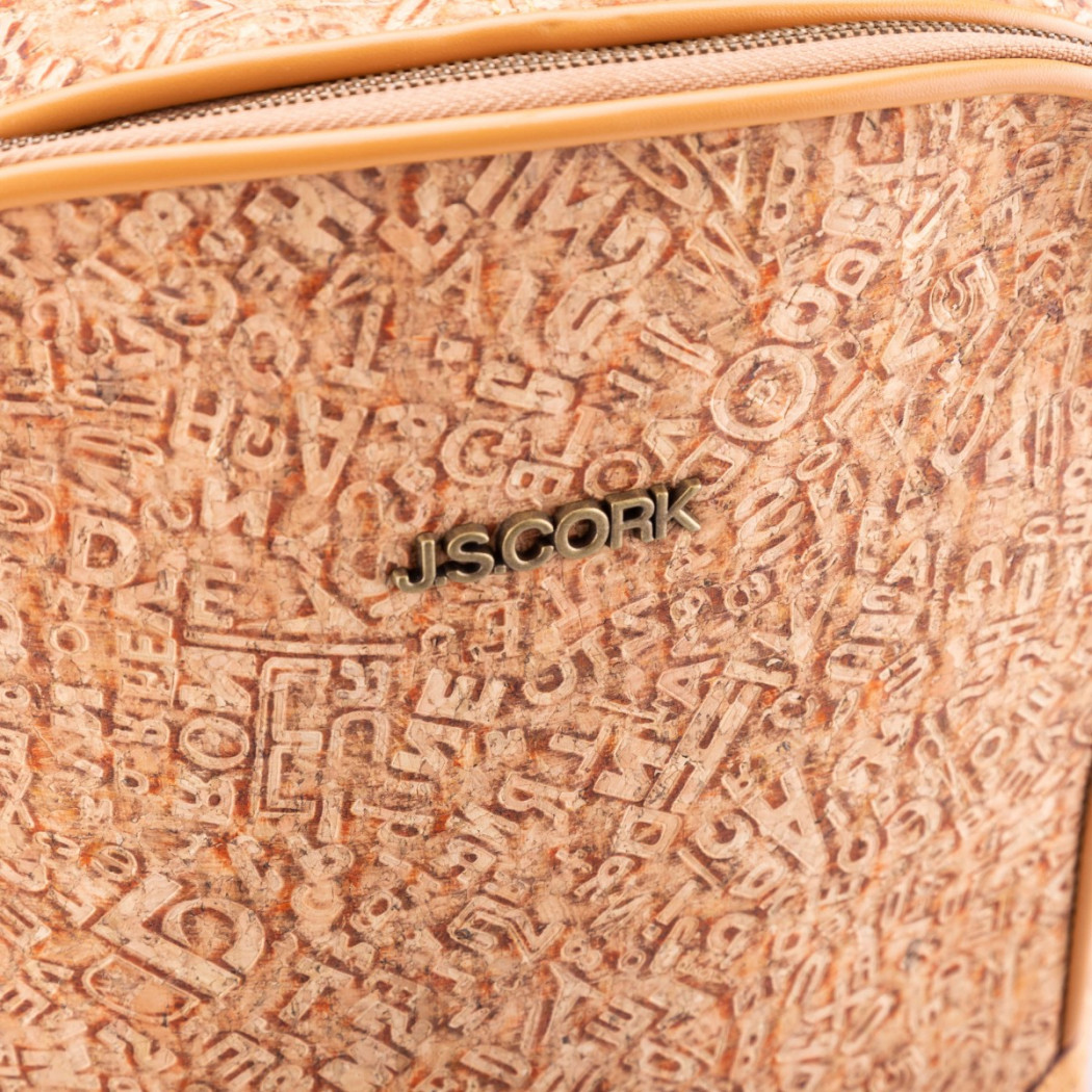 Cork Backpack Letters