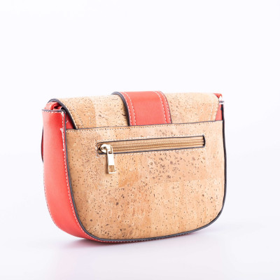 Cork Bag with Buckle