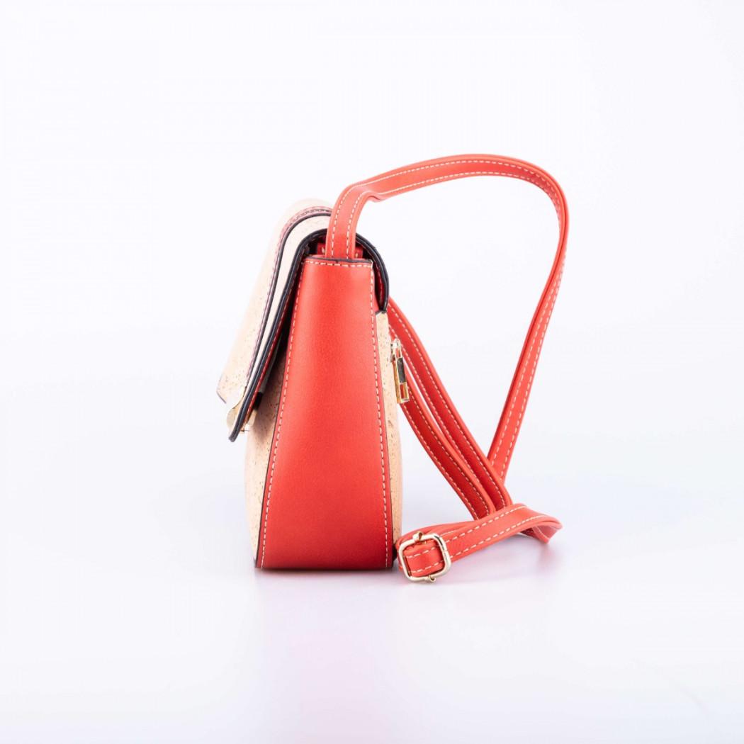 Cork Bag with Zipper
