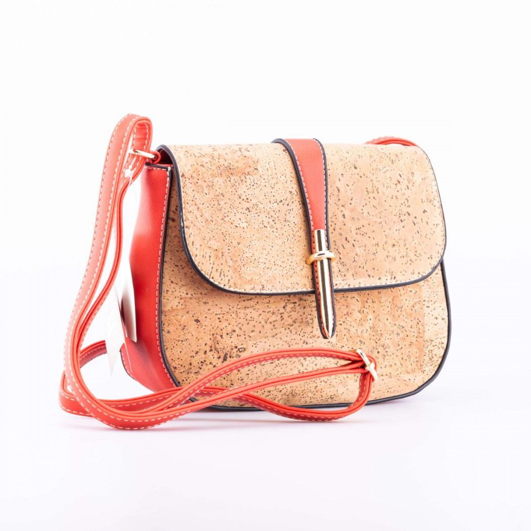 Cork and Leather Bag