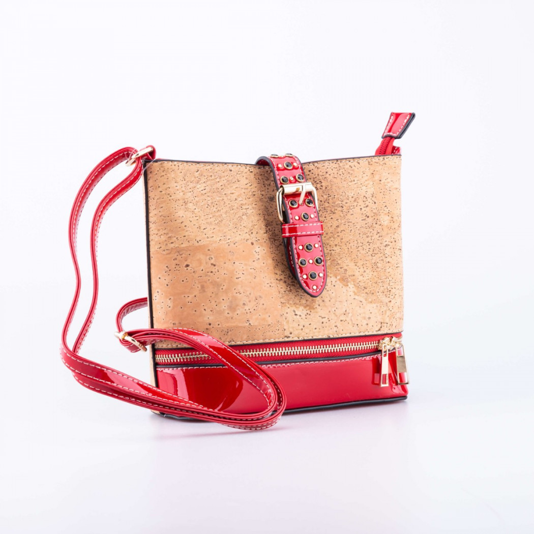 Cork Bag Buckle with Details