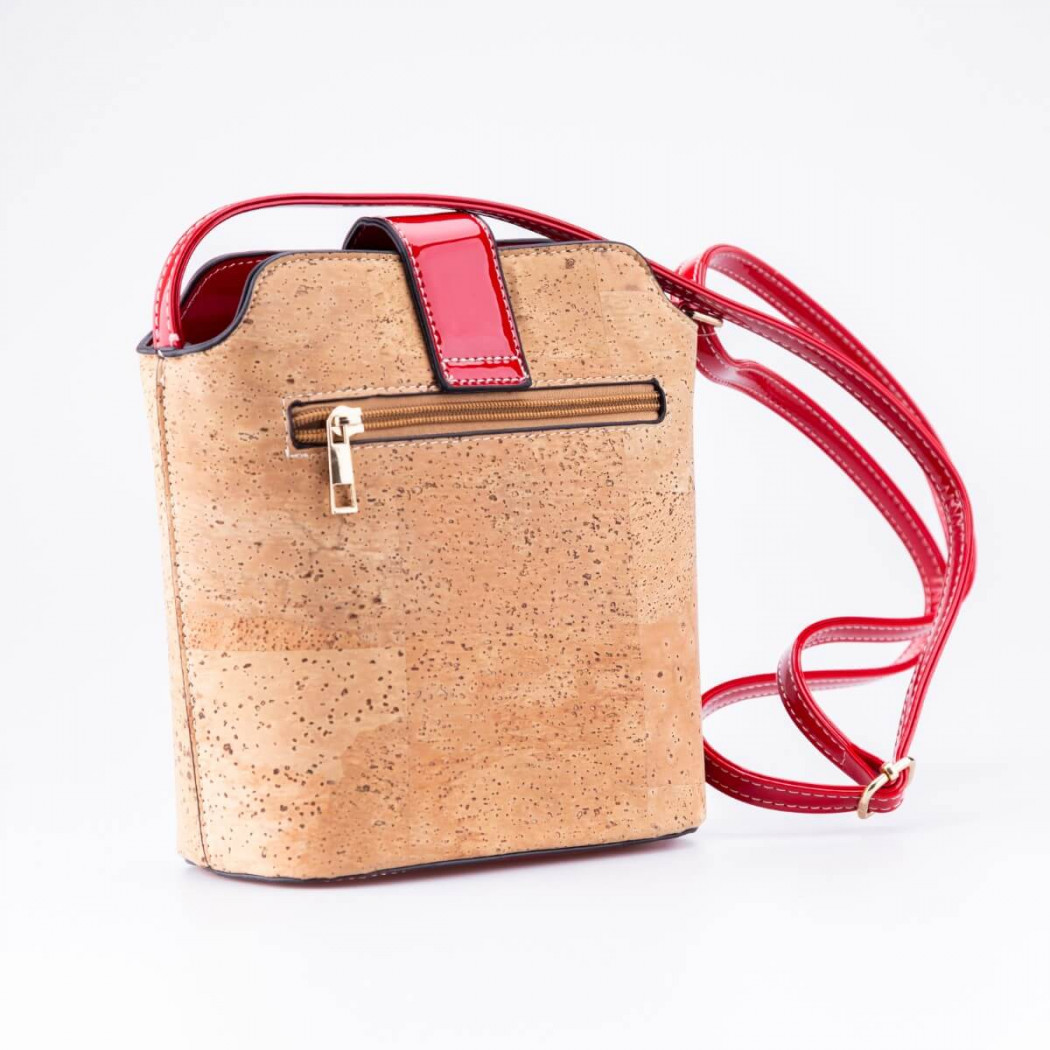 Cork Bag with Ornament