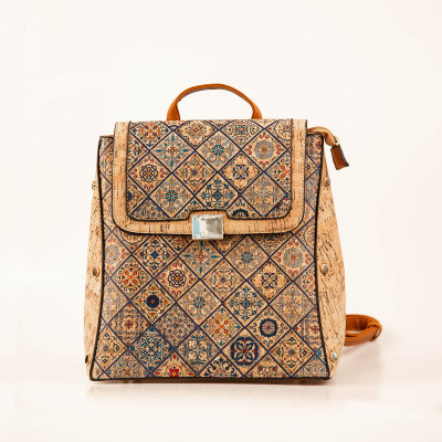 Azulejo Cork Backpack