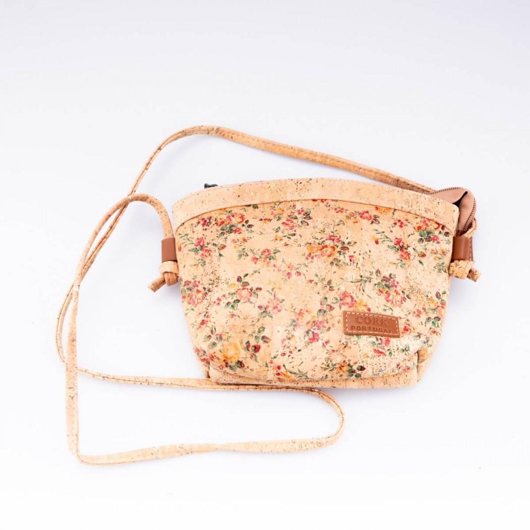Cork Bag Flower Pattern