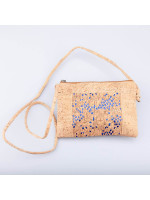Cork Bag Blue Dots