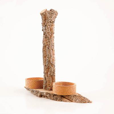 Rustic Cork Cruet