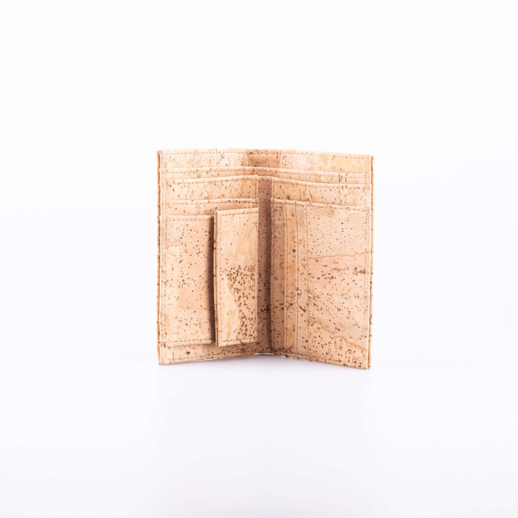 Vertical Cork Wallet